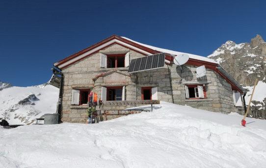 Albert Heim Hütte (2'541m) + Schafberg (2'591m)