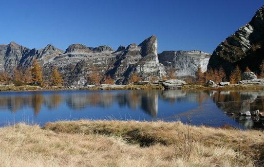 Lago del Starlarèsc da Scimarmòta (1'855 m)