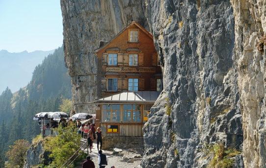 Schäfler (1'925 m) + Gasthaus Aescher (1'454 m)
