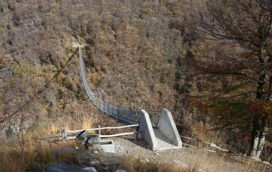 Ponte Tibetano Carasc (700 m) + Mornera (1'377 m)